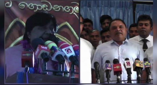 Thenuka – Dilan dispute over SLPP leadership in Badulla district