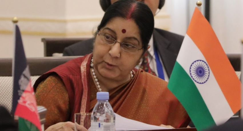 Former Indian External Affairs Minister Sushma Swaraj passes away