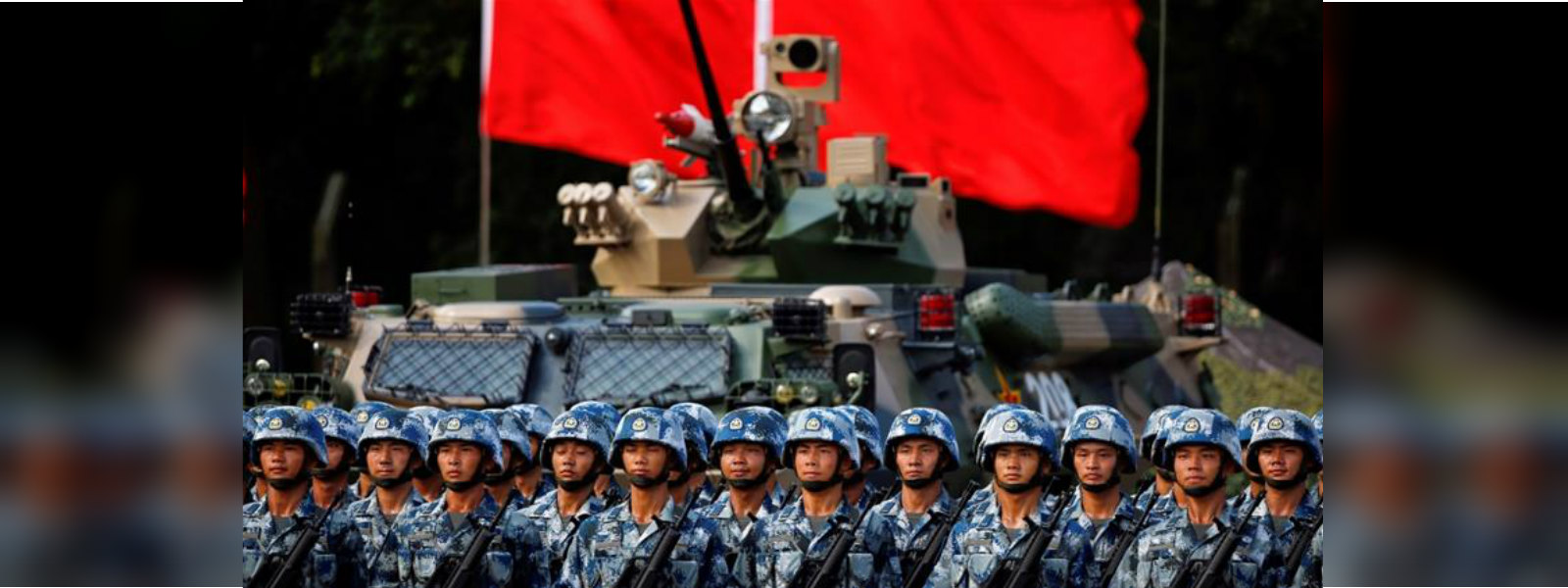 China rotates new batch of troops into Hong Kong