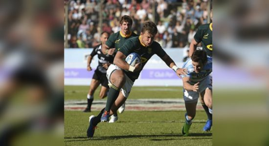 Springboks, Argentina ready for rugby battle