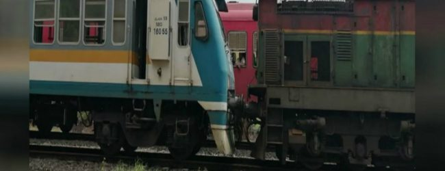 Trains collide between Fort and Maradana