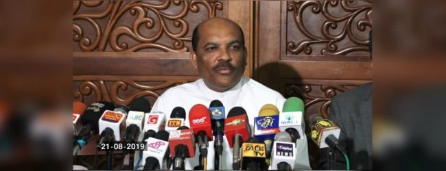 UNP letter signed by 55 MPs is a void attempt – Palitha Range Bandara