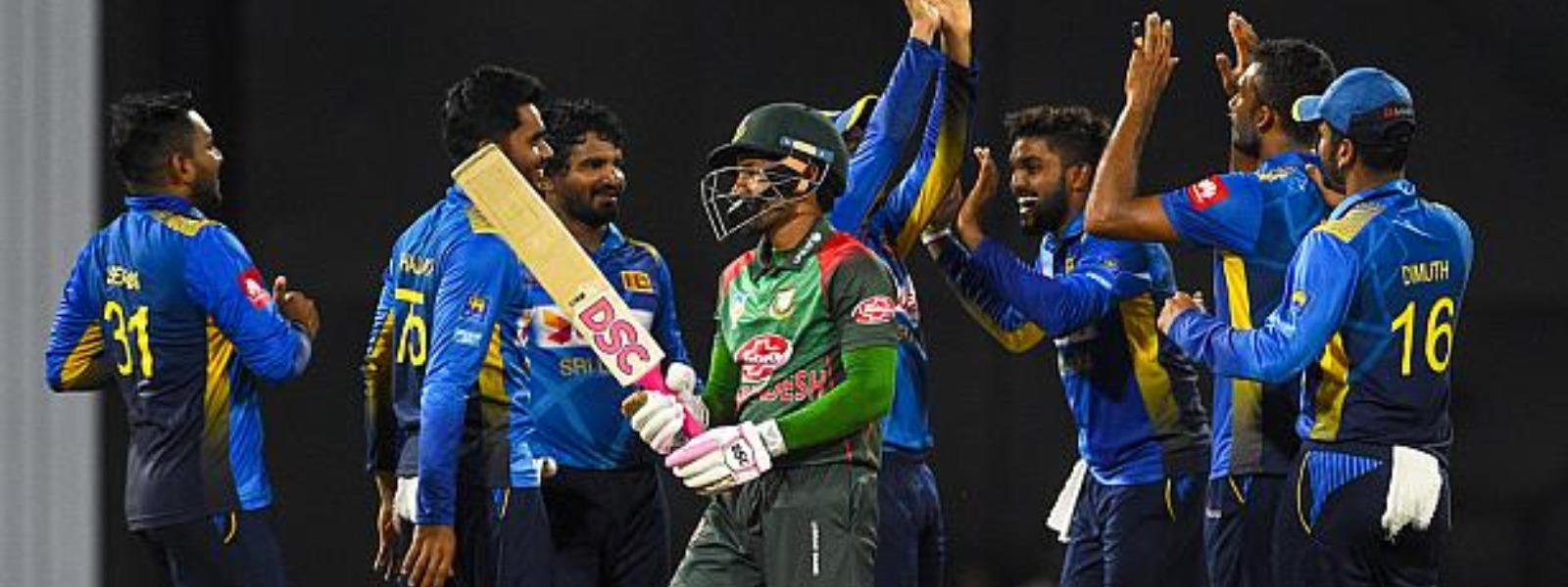 Sri Lanka whitewash Bangladesh in the 3-match ODI series