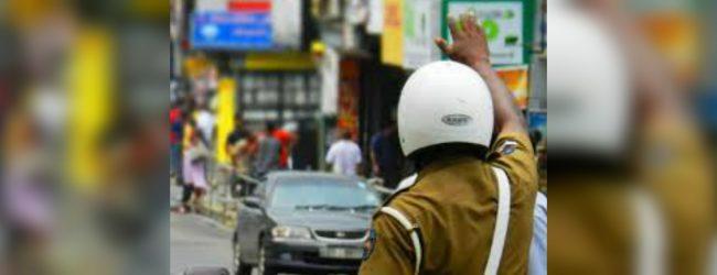 Special traffic plan in Bambalapitiya till September 10th