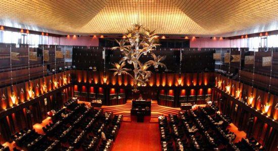 Parliament to convene at 1.00 pm