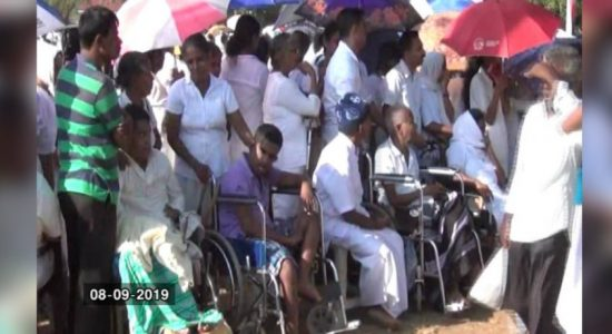 Spiritual healing program in Horowpothana ends with two people dead, 18 hospitalized