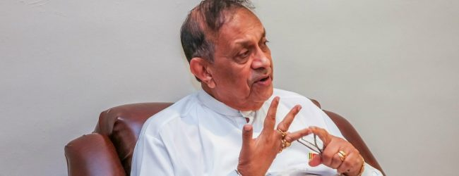 I did not make a written request to be made the candidate: Speaker Karu Jayasuriya