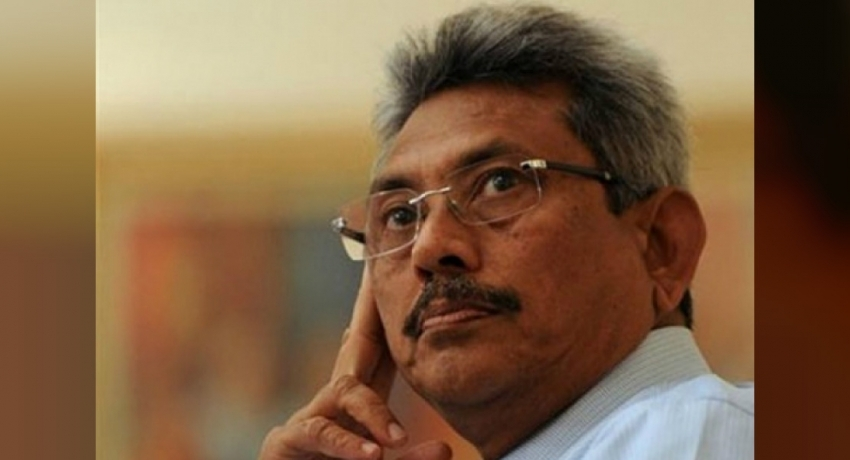 Did Gota campaign for MR on tourist visa?