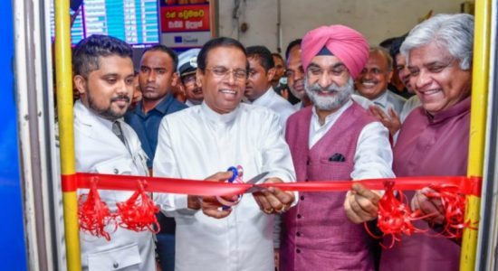 Pulathisi intercity train completes the inaugural run