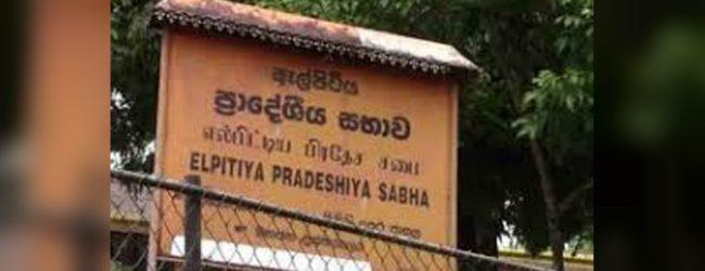 Postal voting for the Elpitiya Pradeshiya Sabha election today