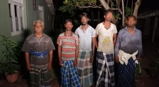 Navy apprehends 05 Indian fishermen for poaching in northern waters