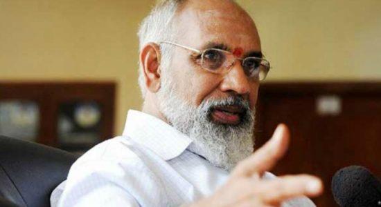 C.V. Vigneswaran's take on UNP Presidential Candidate