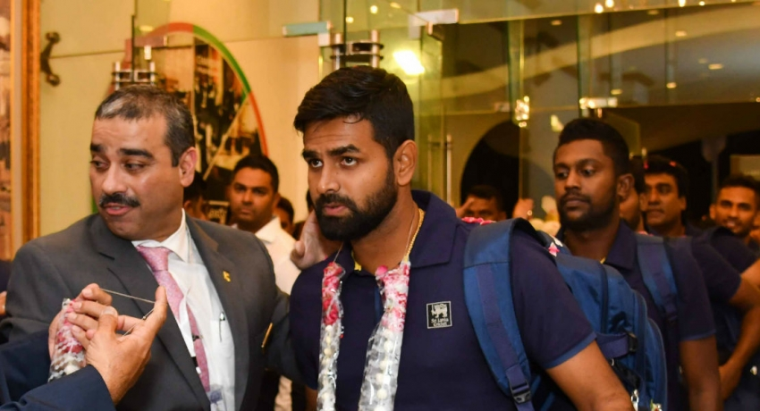 Sri Lanka arrives in Karachi for SL vs Pak series