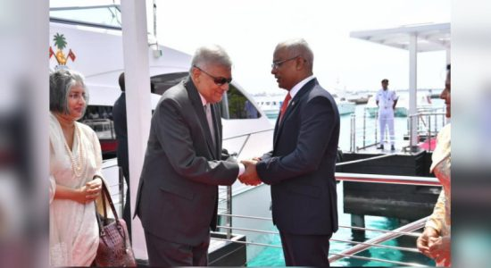 PM Wickremesinghe departs for Maldives