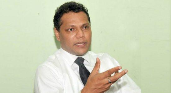 """MP Welgama will not be fielded as the SLFP candidate"" – General Secretary of SLFP, Dayasiri Jayasekara"