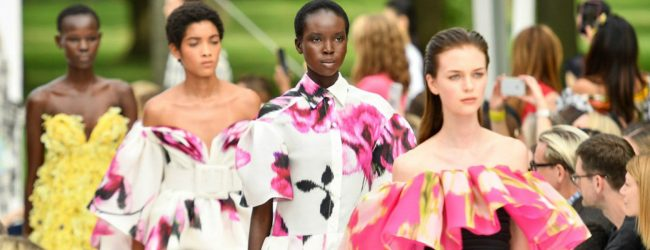 Carolina Herrera 'blooms' for spring/summer 2020
