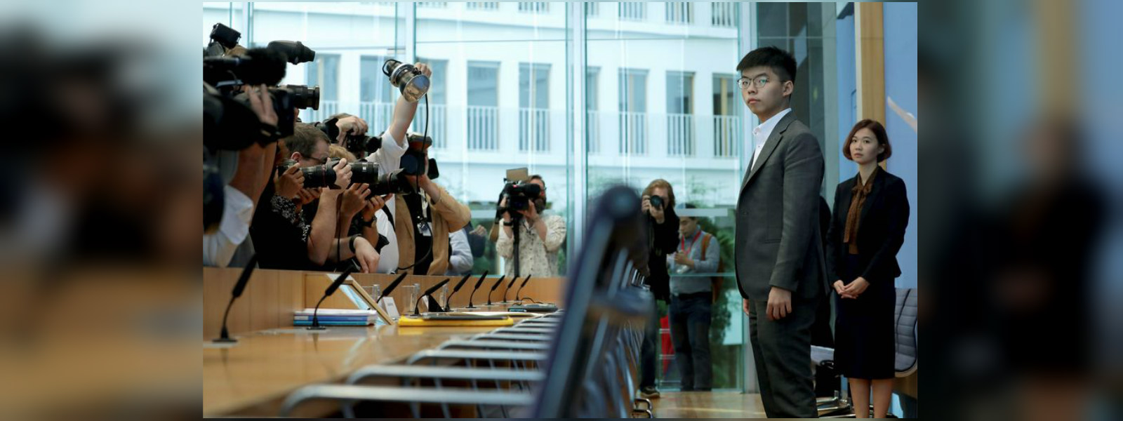 Hong Kong activist Wong on US visit to put 'global spotlight' on protest movement