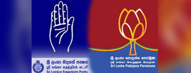SLFP – SLPP coalition attempts would stall as a result of an issue on the party symbol