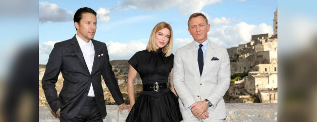 Daniel Craig arrives in Italy for new James Bond film