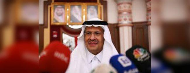 Saudi Arabia's oil supply fully back online – Energy Minister