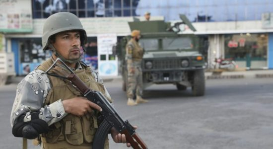 Bombs go off as Afghan presidential election begins