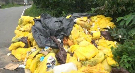 Clinical waste profiteering racket exposed