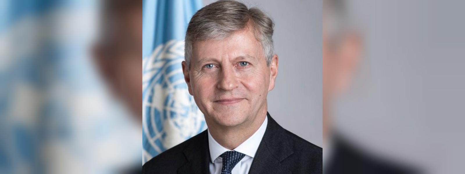 Sri Lanka's UN delegation meets with Under Secretary-General of UNDPO Jean-Pierre Lacroix