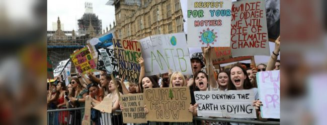 The Global Climate strike launched by youth calls government attention on climate change