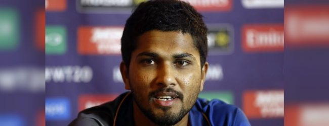 Dinesh Chandimal joins SL Army today