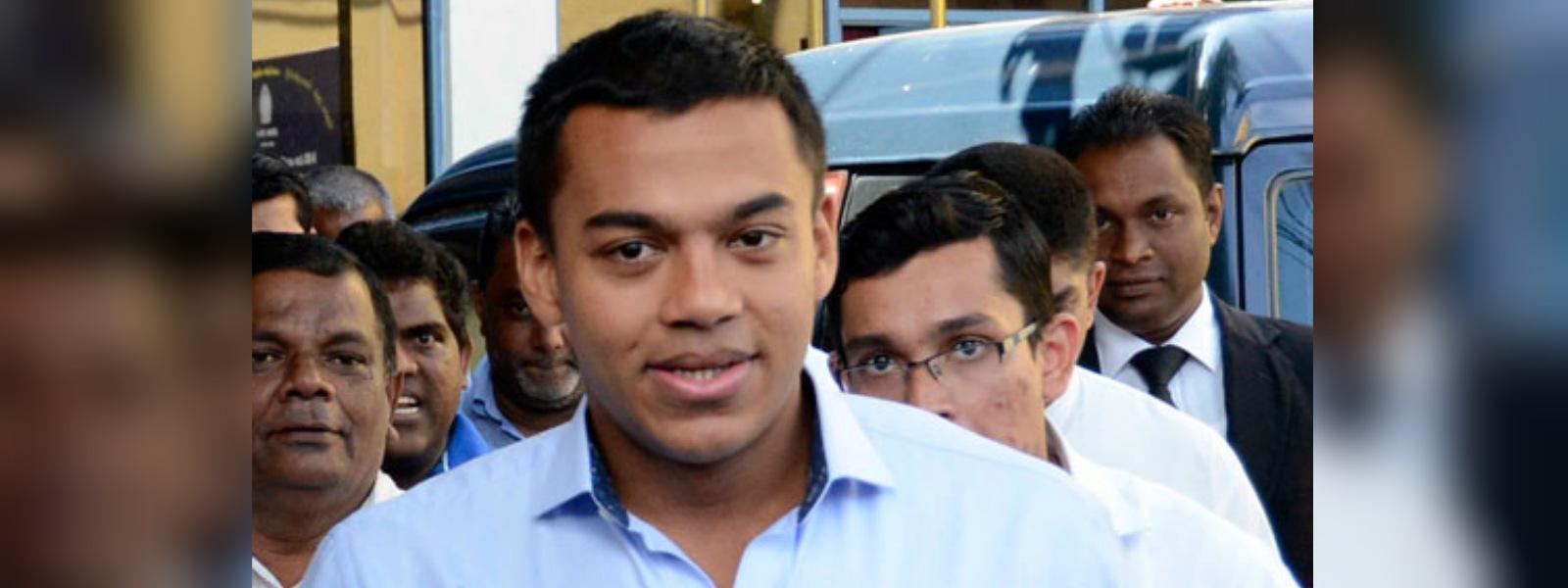 Yoshitha Rajapaksa reinstated as Lieutenant of Sri Lanka Navy