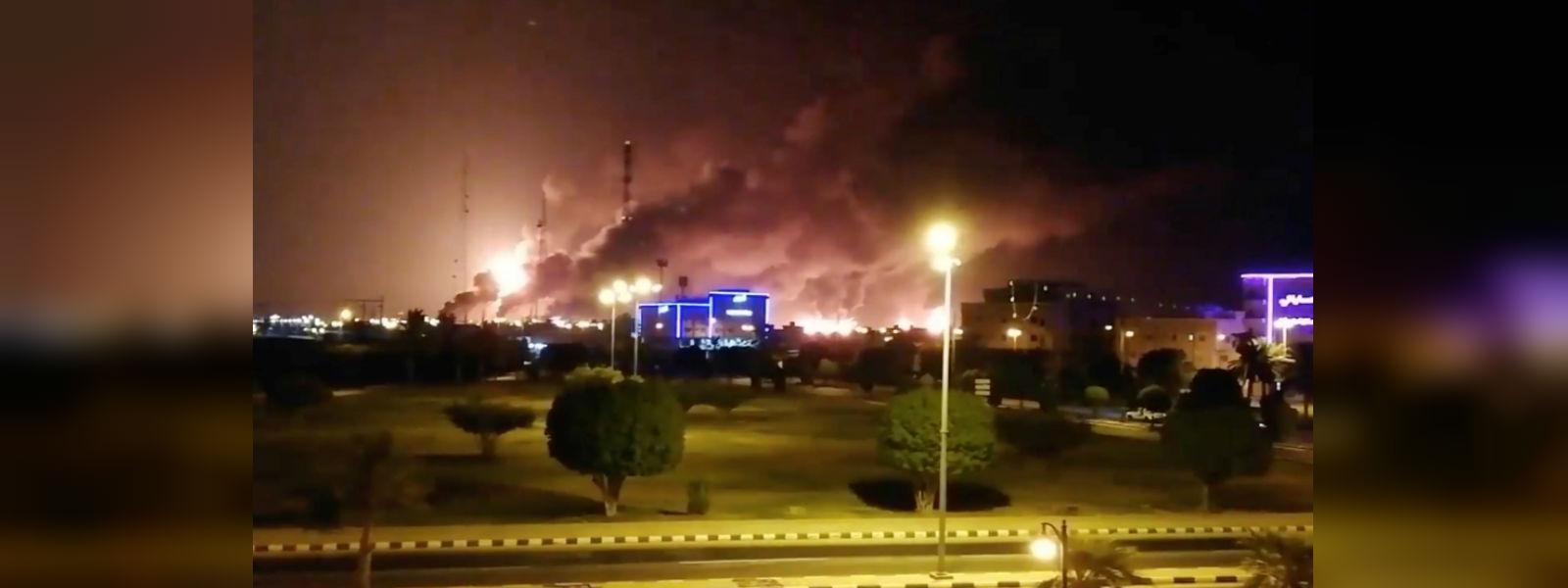 Two drone attacks on oil facilities in Saudi Arabia