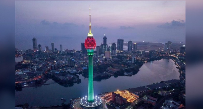 Lotus Tower to bloom today