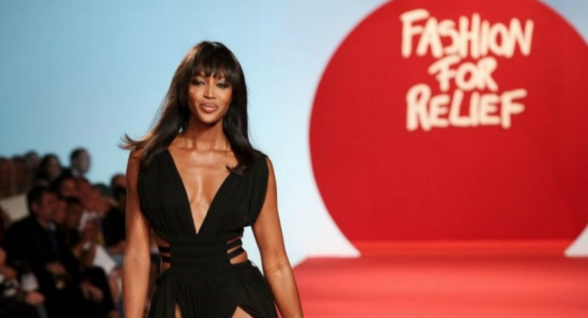 Naomi Campbell, Anna wintour provide some 'Fashion for relief' in London