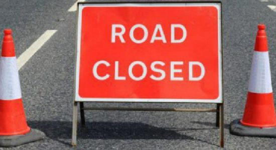 Colombo Lotus road closed ;alternate routes suggested