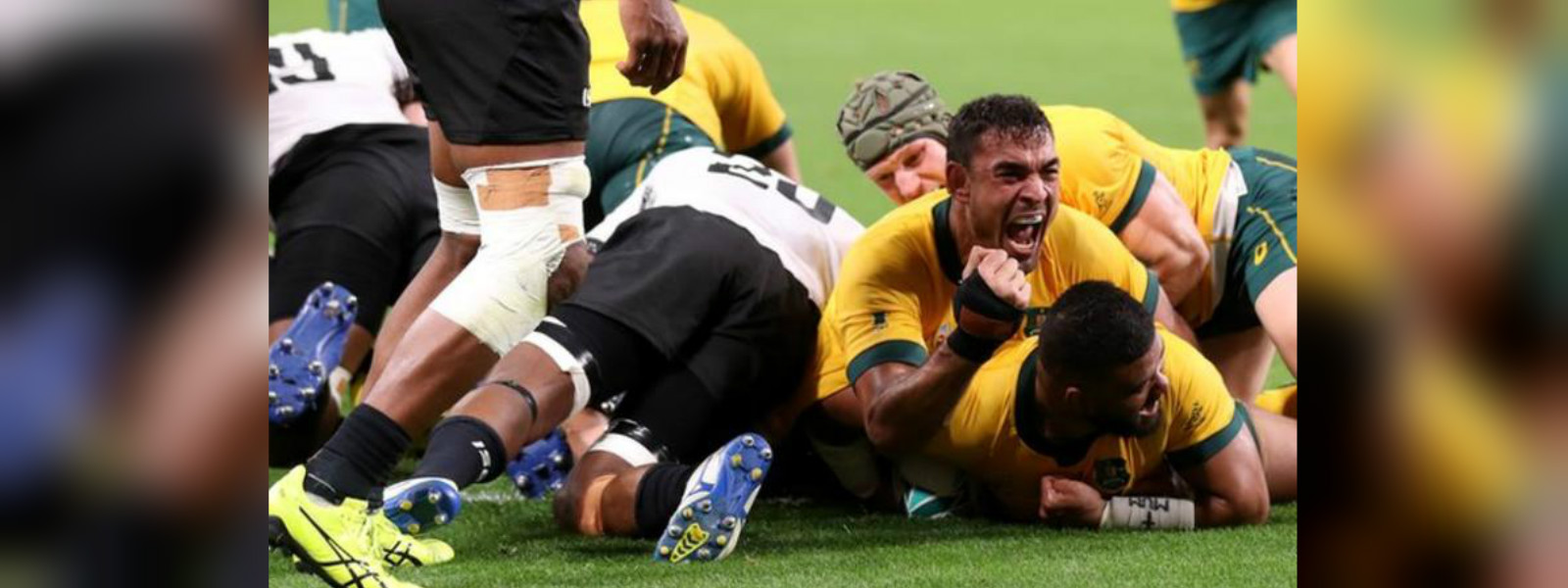 Australia 39-21 Fiji: Wallabies fight back to win opening match