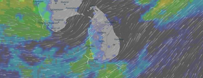 Showery conditions to continue; landslide warning issued for four districts