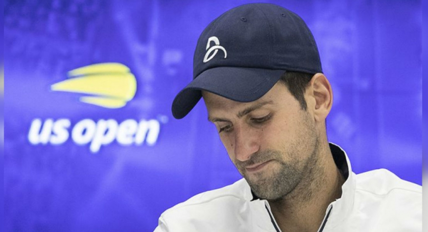 'Of course it hurts', says Djokovic after retiring from U.S. Open with shoulder injury
