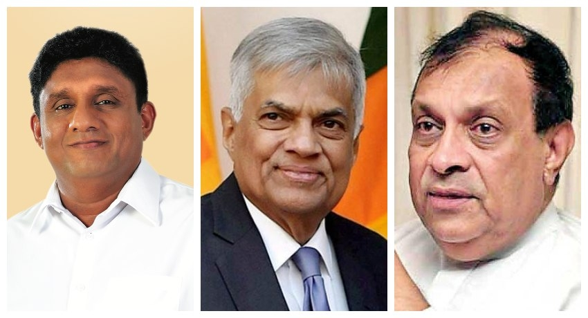 Ranil, Sajith and Karu meet for talks