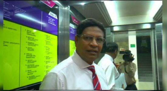 SLC's Mohan de Silva jittery when confronted by News 1st reporter on corruption