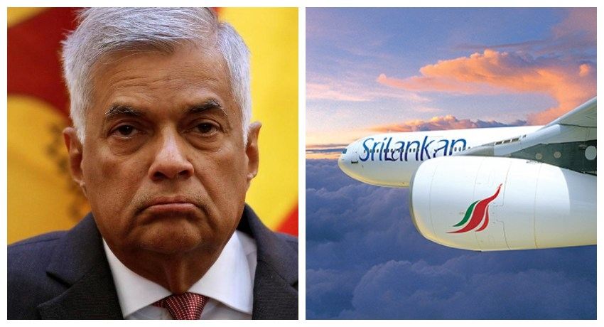 PM admits his involvement in the collapse of Sri Lankan Airlines