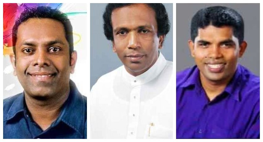Three new UPFA MPs take oaths