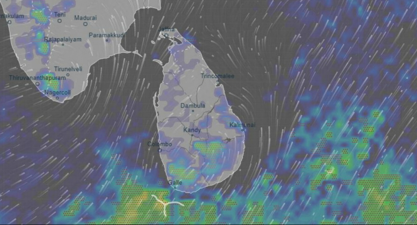 Light showers expected over the country