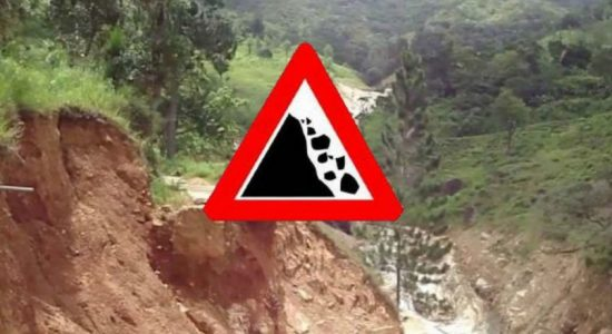 NBRO issues AMBER Landslide warning for Kegalle