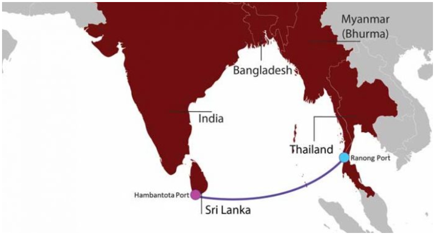Hambantota Port links up with Ranong Port in Thailand
