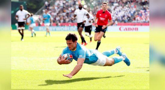 Uruguay stun Fiji in Kamaishi shock