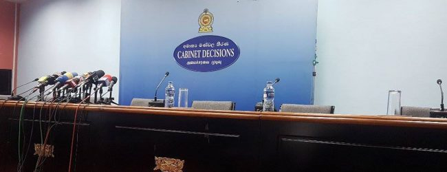 Cabinet rejects proposal to abolish executive presidency