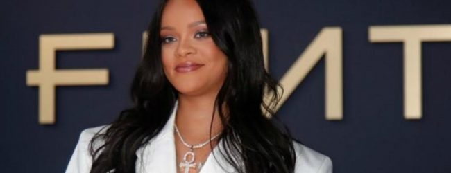 Rihanna stages fashion show for exclusive Amazon release