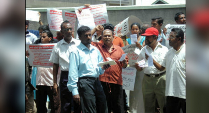 Teachers and Principals launch strike; academic activities in schools islandwide hampered