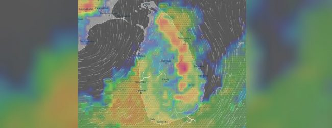 Heavy rainfall of about 100 mm predicted in 6 provinces