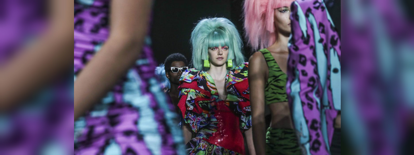 Jeremy Scott 'rocks' the color wheel for his new collection